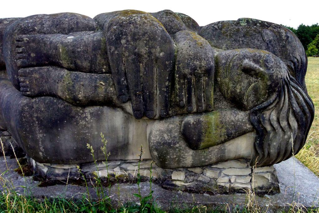 Kienbergrundweg Bülzig Skulpturenpark Stadt der Engel