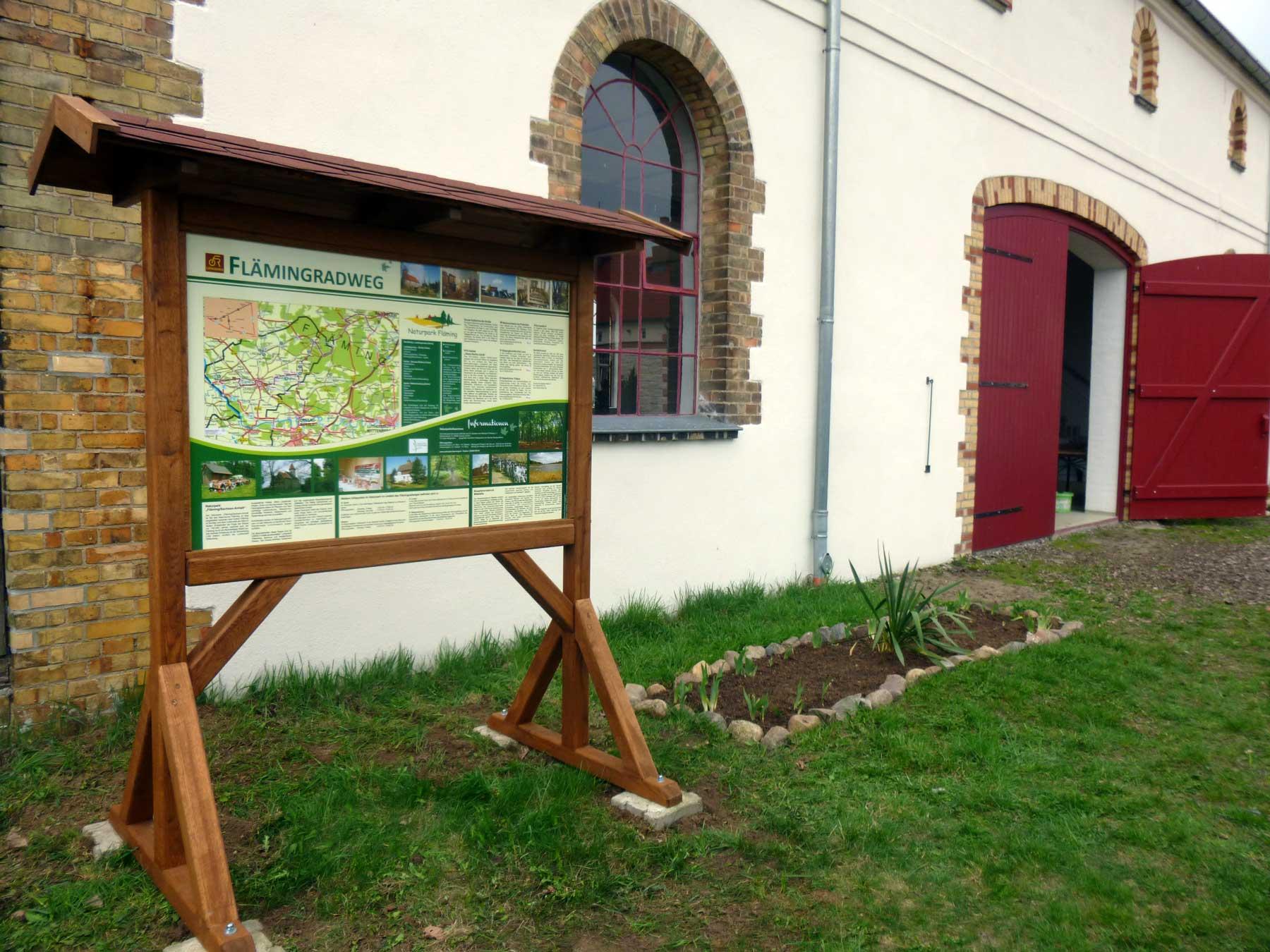Dorfkirchenmuseum Flämingradweg Garitz