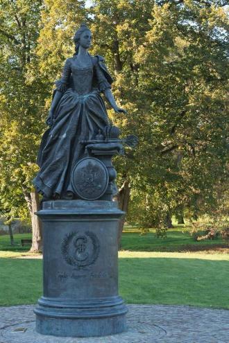 Denkmal Katharina der Großen Zerbst/Anhalt