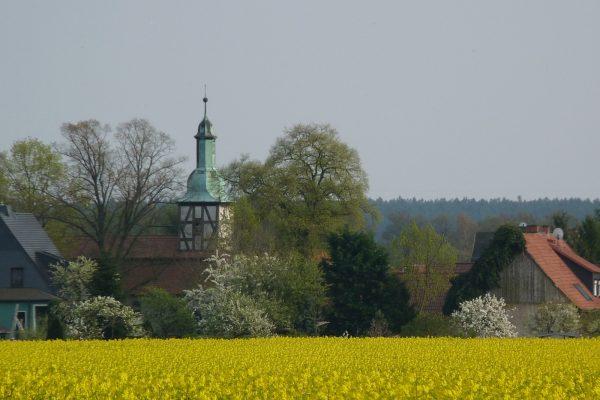 Entschlossene Kirche Garitz Raps Foto von Sonja Hahn