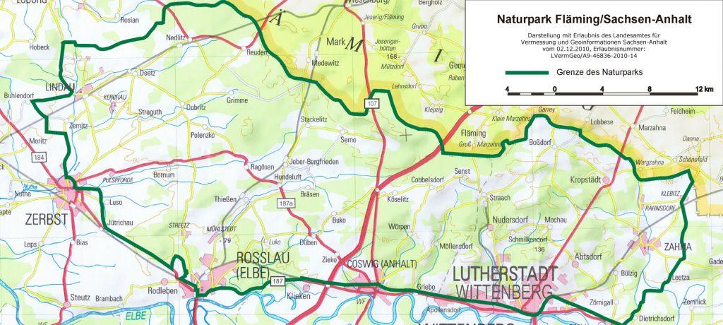 Naturpark Fläming Sachsen-Anhalt