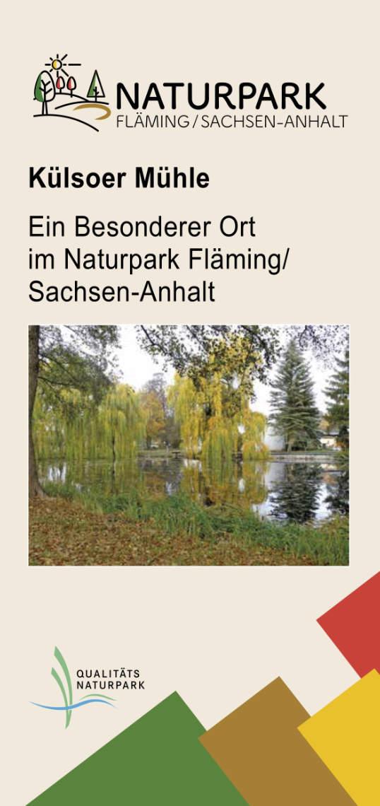 Flyer Besondere Orte Külsoer Mühle 2019