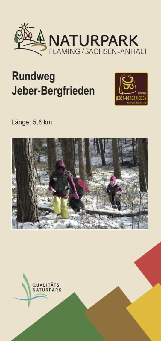 Flyer Rundweg Jeber-Bergfrieden